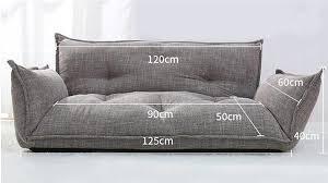 modern design furniture. Modern Design Floor Sofa Bed 5 Position Adjustable Plaid Japanese Style Furniture Living Room Reclining