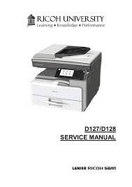 Ricoh Aficio Mp 301spf Service Manual Manualzz Com