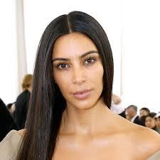 kim kardashian went to a fashion show