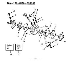 Poulan gti17 gas trimmer parts diagram for carburetor wa 199