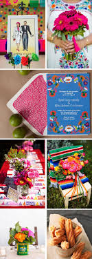 mexican wedding invitations. mexican wedding ideas - love the colors, stationery design, etc. beautifully vivid invitations n