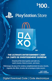 Store - Walmart Gift Playstationnetwork 100 Card digital Playstation Canada Download