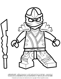 49 Ninjago Jay Coloring Pages Lego Ninjago Jay Tournament Of