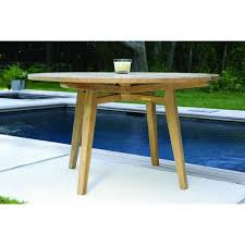 algarve round 52in dining teak dining table