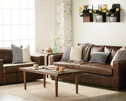Leather Living Room Southern Sown Cocoa Leather Living Room Magnolia Home