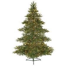 bethlehem lighting christmas trees. GKI/BETHLEHEM LIGHTING 7.5\u0027 Pre-Lit Layered Balsam Artificial Christmas Tree - Clear Bethlehem Lighting Trees