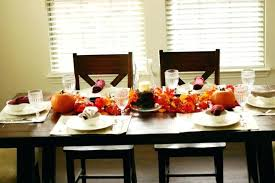dining table centerpieces dining decorated dining table centerpieces decor orange small pumpkin round plates vintage wood