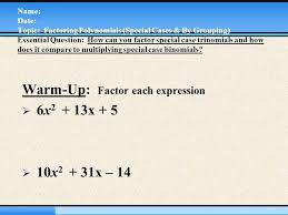 How To Factor A Cubic Factor X 5 1 Math Image Titled Factor A Cubic Polynomial Step