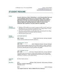 College Graduate Resume Sample Beauteous ⛃ 40 Sample Resume For Recent College Graduate