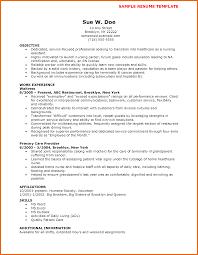Cna Resume Skills Sop Example