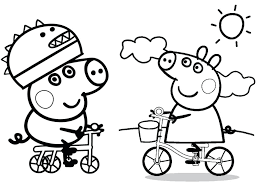 Peppa Pig Colouring Pages Pdf Peppa Pig Colouring Pages Pdf Coloring