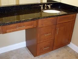 Bathroom Cheap Bathroom Vanity Cabinets With Black Granite