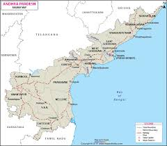Indian Railway Route Chart Andhra Pradesh Railway Map Maps Of India