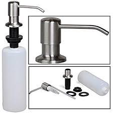 Amazon.com: Asien Brushed Stainless Steel Soap Dispenser Built in ...