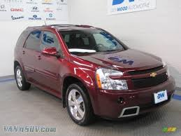 2008 Chevrolet Equinox Sport AWD in Deep Ruby Red Metallic ...