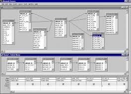 Relational Databases Example Usgs Pontchartrain Geochemistry Example Of Database Query