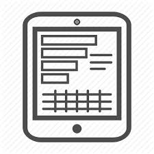 Tablet Chart Reports Graphs By Presattion