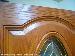 pictures of wood grain fiberglass entry doors
