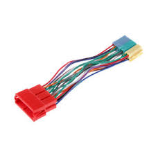 iso wiring harness for vw audi adaptor cable lead loom 20 pin image is loading iso wiring harness for vw audi adaptor cable