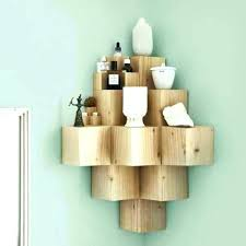 corner wall mounted shelf unit shelving units