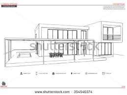 simple architectural drawings. Architecture Drawing Template Simple Architectural Blueprint Floor Plans Drawings