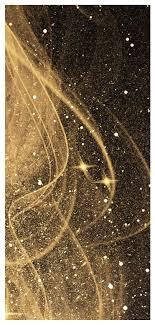Vloeiende Gouden Lijn Mobiel Behang Gratis Afbeeldingdownloaden
