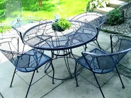 steel patio set metal patio furniture sets black wrought iron outdoor dining set vintage spring steel steel patio set