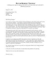 Sample General Cover Letter For Resumes General Cover Letter Davidkarlsson