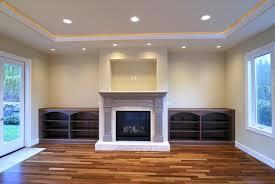 led lights inside fireplace for mantel over recessed lighting indoor