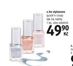 Akce She Stylezone Lak Na Nehty Za 4990 Kč Dm Drogerie 28 3