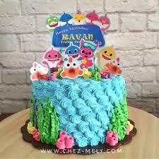baby shark birthday cake chez mely