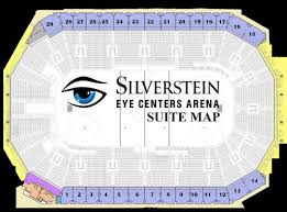 Seating Chart Silverstein Eye Centers Arena