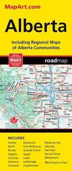Alberta Distance Chart Alberta Mapart Map Maps More