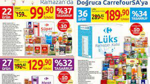 Carrefour Ramazan kolisi 2021! | Carrefour Ramazan erzak paket 2021