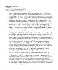 Application Essay Examples College Application Essay Examples Writings And Essays Corner