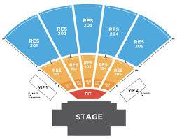 Amp Seating Chart Seating Chart Ozarks Amphitheater