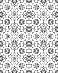 Design Patterns To Color Drawing Mandala Pattern Transparent Png Clipart Free