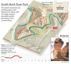 smith rock state park updown misery ridge terry's top  trails