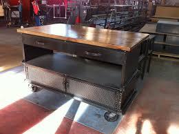 industrial kitchen furniture. Vintage Industrial Kitchen Island Furniture Pertaining To Prepare 10