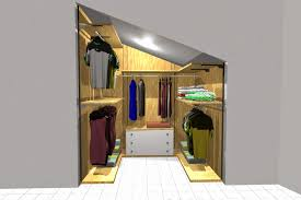 Arredamentincasa: cabina armadio per mansarda come arredare