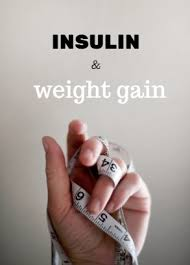 Image result for weight gain and insulin