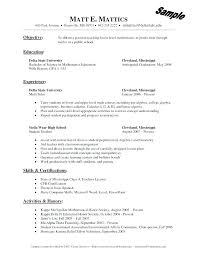 Tutor Resume Sample Delectable Tutoring Resume Sample Amusing Sample Resume Objectives Tutor With