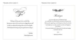 Wedding Thank You Samples Wedding Thank You Card Wording Sample Rome Fontanacountryinn Com