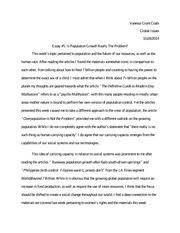 global issues essay vanessa grant coats global issues essay  3 pages global issues essay 5