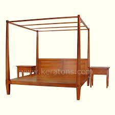 Teak Bedroom Furniture 4 Poster Bedroom Sets Victorian Style Four Poster Bed Modern