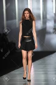ZAGREB, CROATIA - MARCH 14 Fashion Model Wears Clothes Made.. Stock Photo,  Picture And Royalty Free Image. Image 18479861.