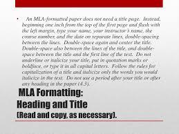 Ppt Mla Formatting Powerpoint Presentation Id2087274