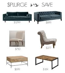 living room looks for less. budget decorating sources: get the look for less with splurge/save options living room looks