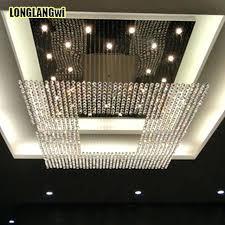 square chandelier