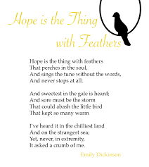 """Hope"""" by Emily Dickinson 
